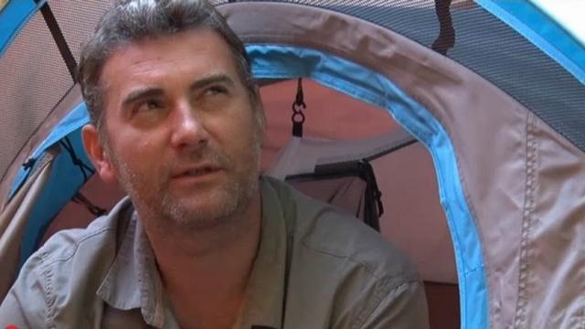 Martin woont al twee jaar in een tent
