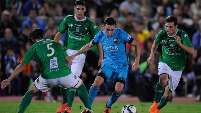 Barcelona in beker gelijk tegen derdeklasser, AS Roma aan kop in Serie A