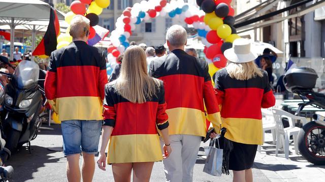 'Weg met Duitse aandelen'