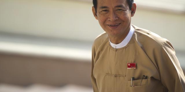 Win Myint volgt Htin Kyaw op als president Myanmar