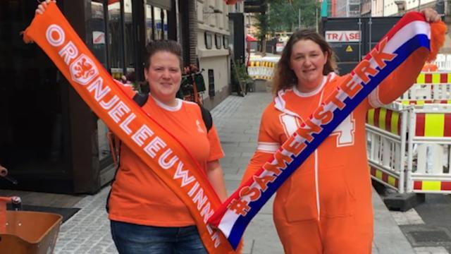 Groot vertrouwen bij fans Oranjevrouwen in Noorwegen: 'Oslo is van ons'