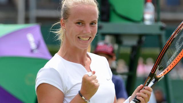 Hogenkamp verslaat Wang en bereikt tweede ronde Wimbledon