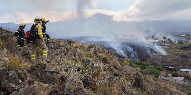 Een van lavastromen op La Palma stilgevallen, maar vulkaan 'blijft krachtig'