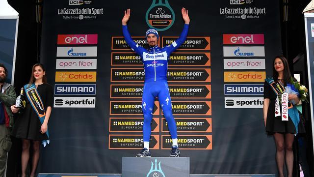 Alaphilippe verheugt zich na zesde seizoenszege al op Milaan-San Remo