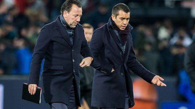 Van Bronckhorst baalt van ineffectief Feyenoord na nieuwe domper