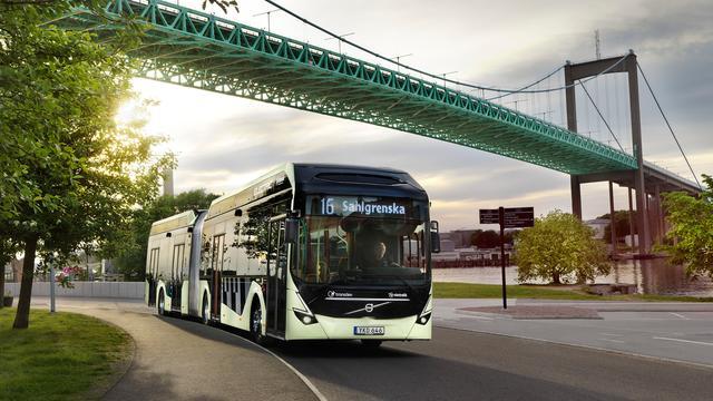 Volvo Buses haalt Europa's grootste order voor elektrische bussen binnen