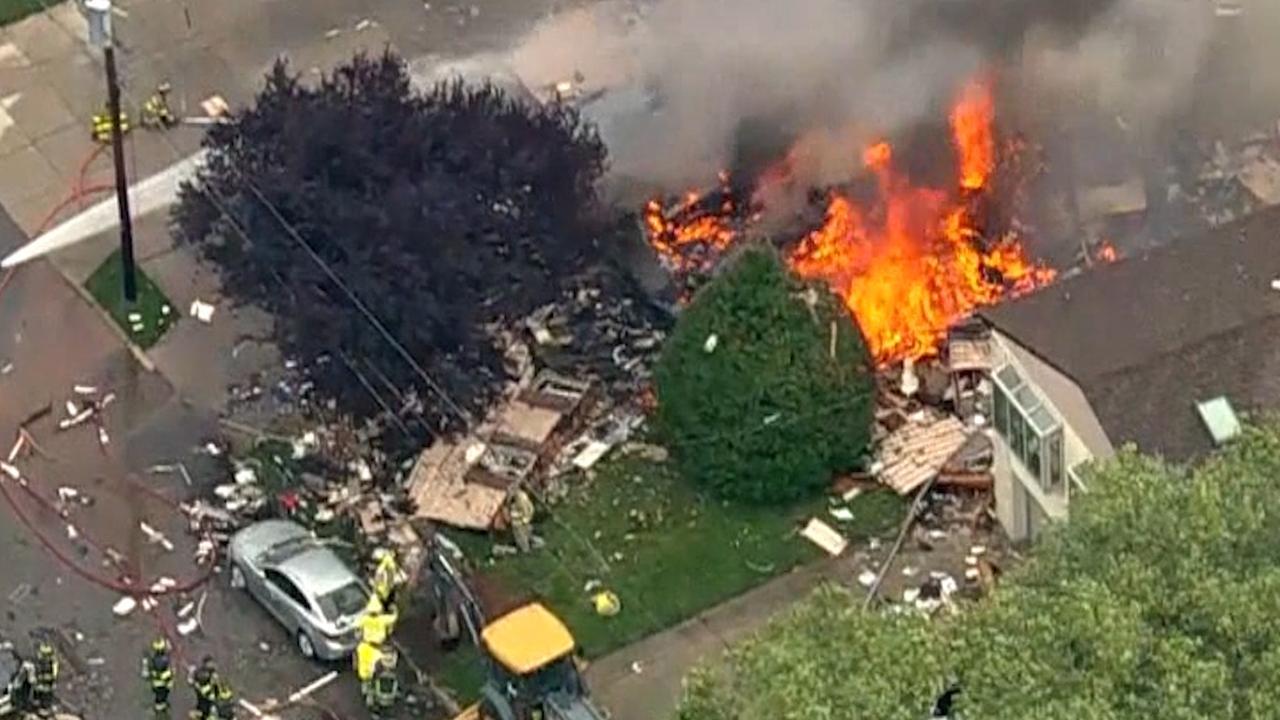 Huis in New Jersey volledig in puin na explosie
