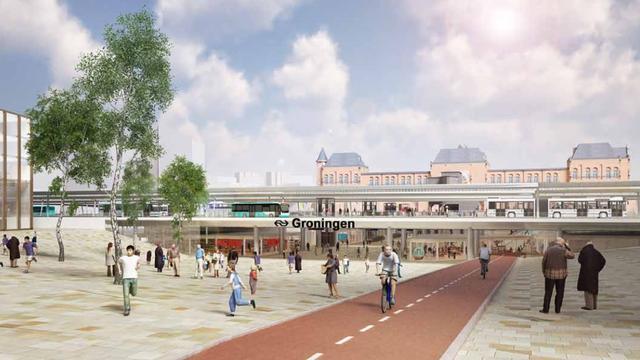 Plannen voor nieuw Hoofdstation Groningen flinke stap verder