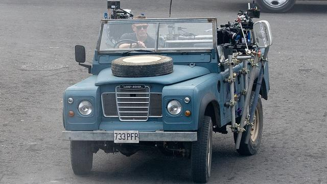 Land Rover te zien in nieuwe James Bond-film