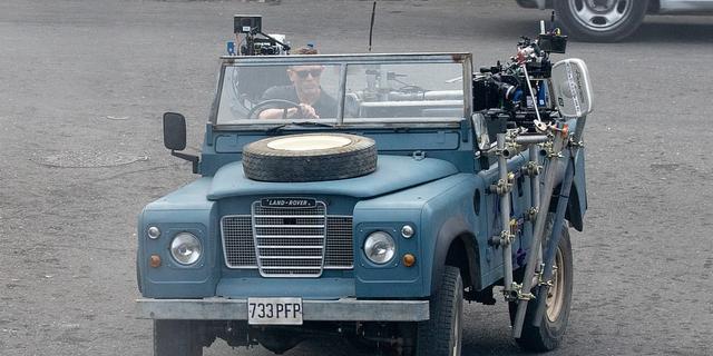 Land Rover te zien in nieuwe James Bond-film
