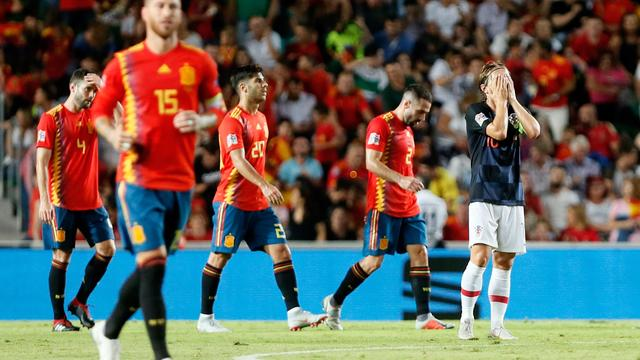 Modric spreekt schande van recordnederlaag WK-finalist Kroatië in Spanje