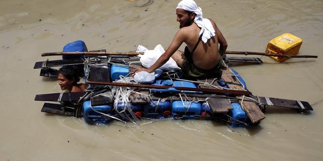 Miljoen mensen in Myanmar getroffen door moesson