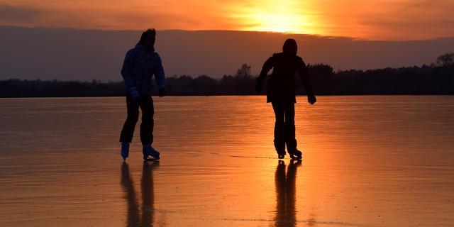 Vaarverbod op Aarkanaal en deel van Oude Rijn om ijspret niet te bederven