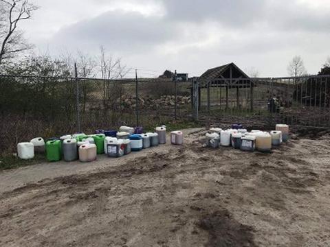 Politie zoekt getuigen na drugsdumping in Bergen op Zoom