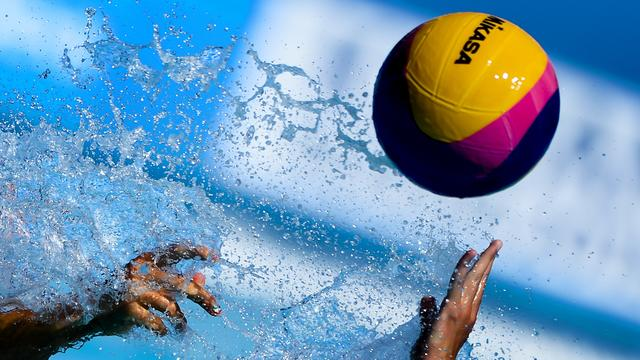 EK waterpolo in september in zwembad AquaRijn