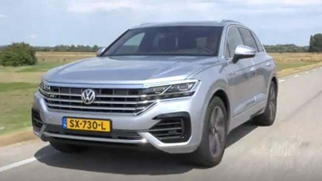 Eerste rijtest: Volkswagen Touareg, een grote SUV met stevige prijs