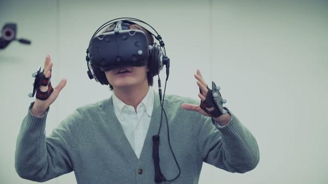Microsoft vormt Kinect om tot virtualreality-controller
