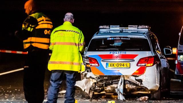 Politieagent (28) overleden na aanrijding op provinciale weg bij Nuenen