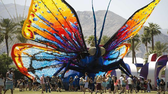 Mode en muziek op Coachella: 'Het gaat echt om zien en gezien worden'