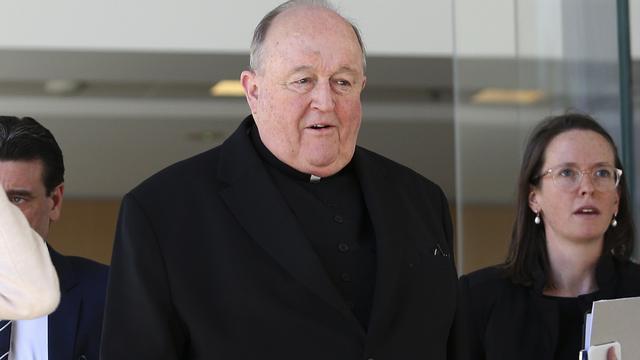 Celstraf Australische aartsbisschop voor verzwijgen kindermisbruik priester