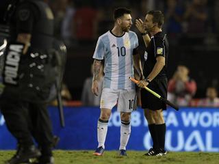 Argentijn beweert dat hij tegen de lucht schold