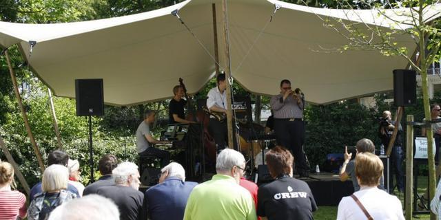 Willem Merkxtuin: de oase tijdens het Jazz Festival