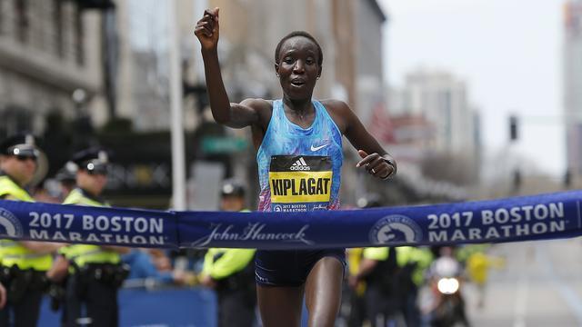 Keniaanse Kiplagat luistert debuut in marathon van Boston op met zege