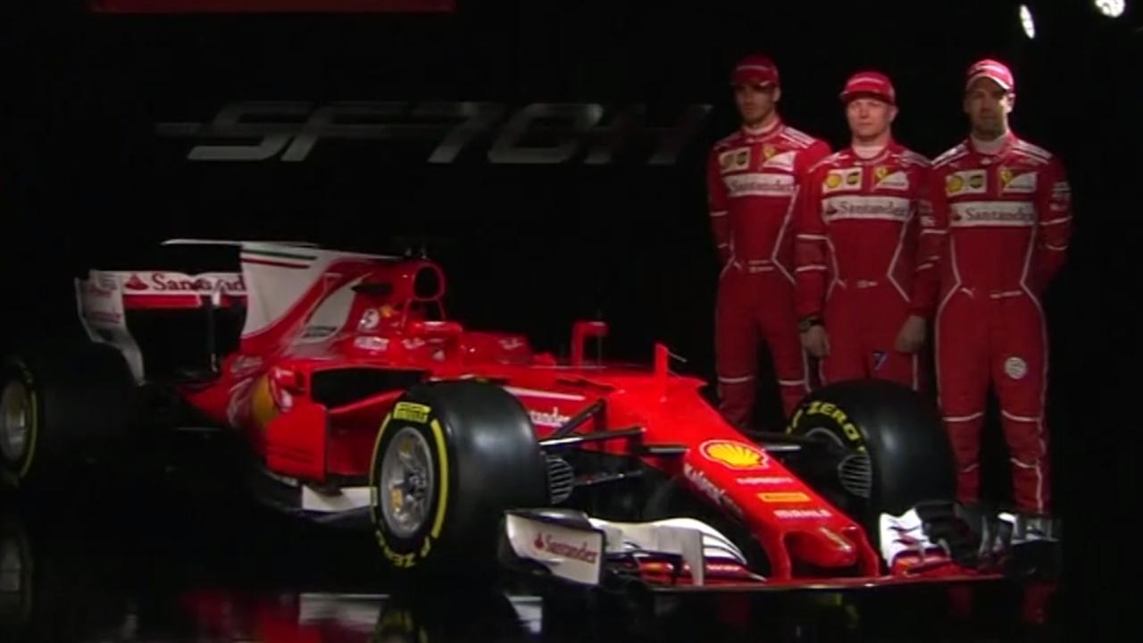Dit is de nieuwe Formule 1-auto van Ferrari