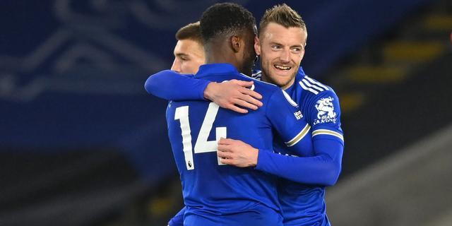 Leicester City wint mede door eerste goal Vardy in bijna 1.000 minuten
