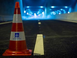 Geen verkeer mogelijk vanaf de A5