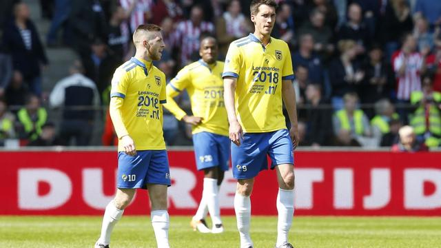 SC Cambuur degradeert na drie jaar uit Eredivisie