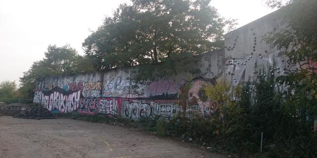'Vergeten' kunstwerk Struycken aan de Kuisvaartkade wordt gesloopt