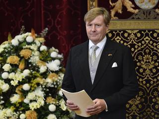 Koning Willem-Alexander opent parlementaire jaar