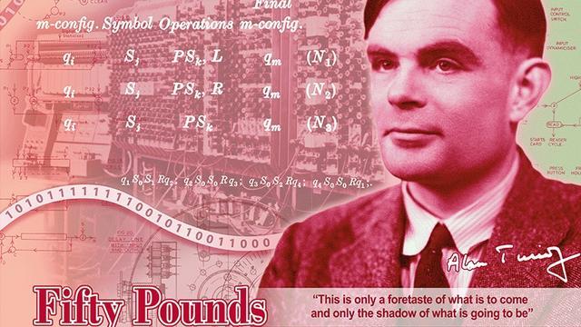 Britse bank zet computerpionier Alan Turing op 50 pondbiljet