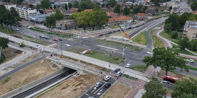 Tunnel Montgomerylaan in Eindhoven geopend