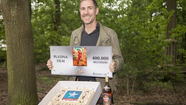 Johan Nijenhuis haalt met Verliefd op Cuba zesde Platina Film binnen