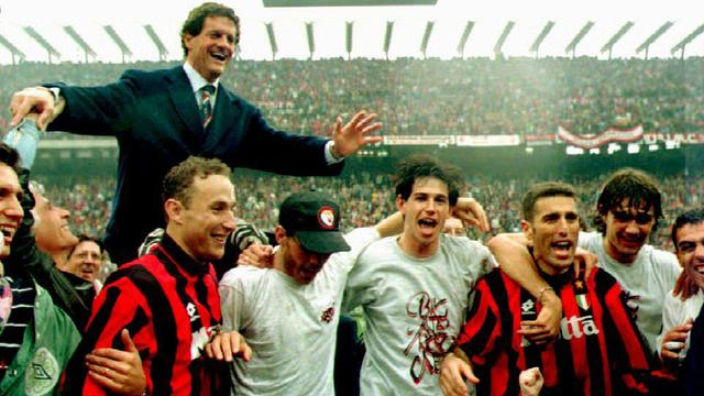 Capello in 1994 bij Milan