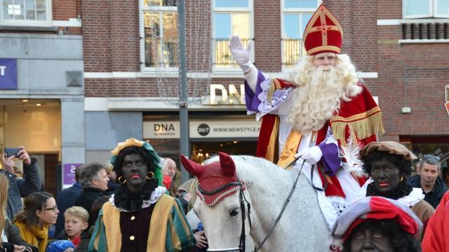 Sinterklaas bezoekt Roosendaal