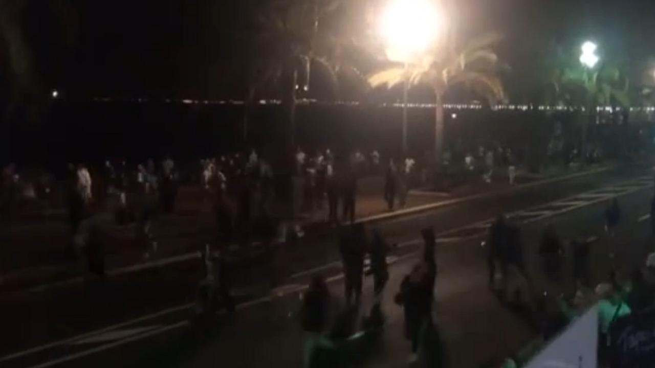 Mensen in Franse plaats Nice vluchten na aanslag