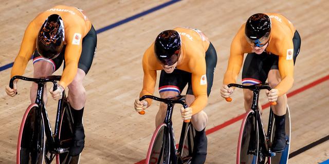 Teamsprinters mogen titel niet verdedigen op WK baanwielrennen