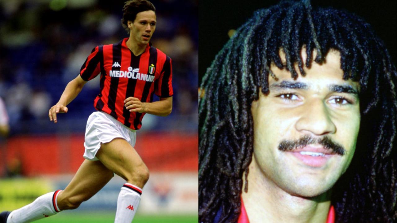 De mooiste goals van Gullit en Van Basten bij AC Milan