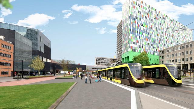Studenten pakken liever gratis OV-fiets dan de bus richting De Uithof