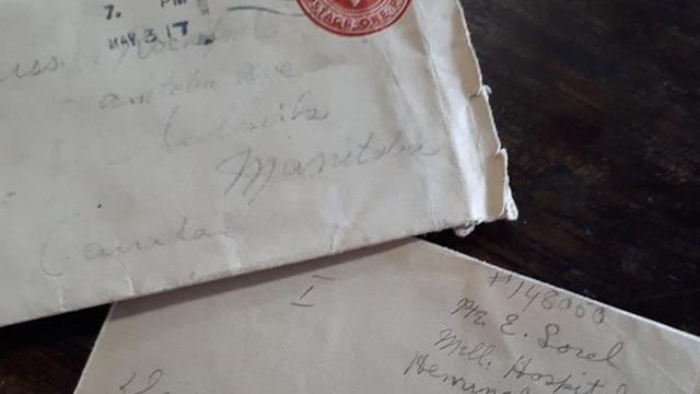 Canadese antiekhandelaar vindt 102 jaar oude brief van WO I-soldaat