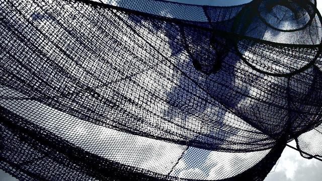 Duikers halen 750 kilo aan visnetten uit Noordzee
