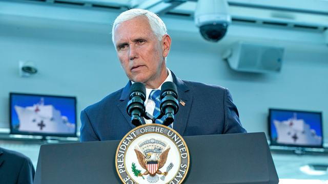 Mike Pence ook in 2020 kandidaat-vicepresident van Donald Trump
