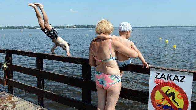 Tientallen zwemmers Oost-Europa verdronken