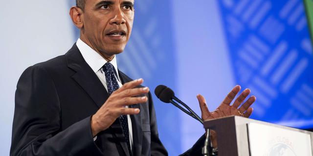 Obama noemt klimaatverandering onze grootste bedreiging