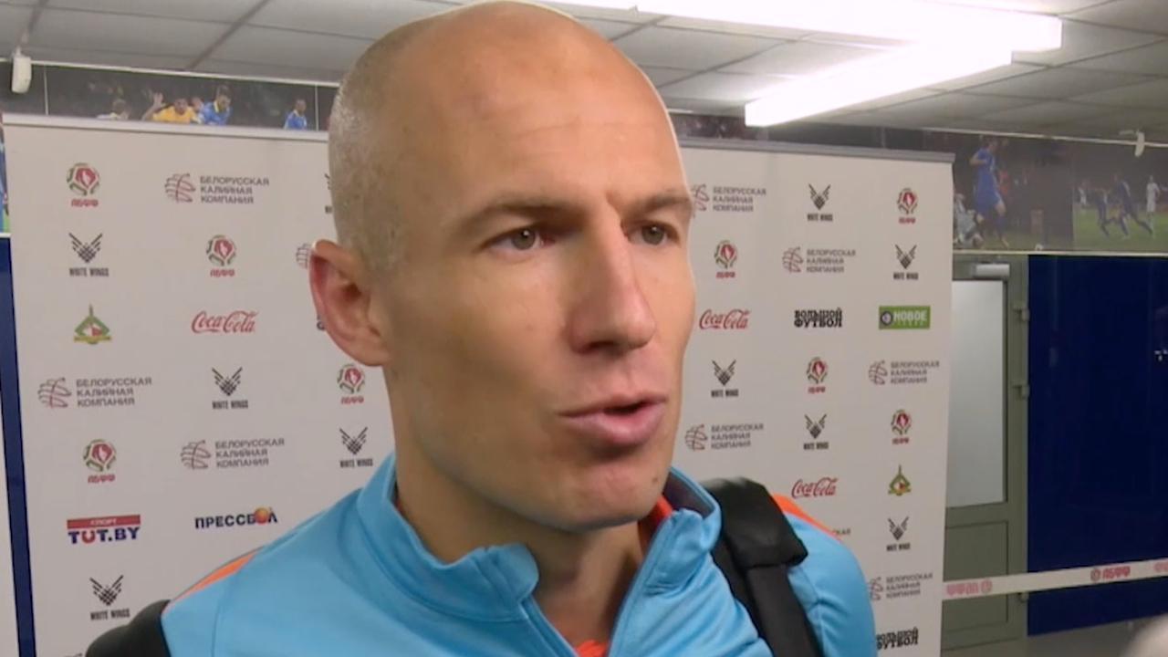 Arjen Robben heeft geen hoop meer op WK-deelname Oranje