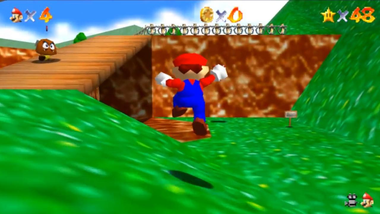 Fan maakt scherpere en soepelere versie van Super Mario 64