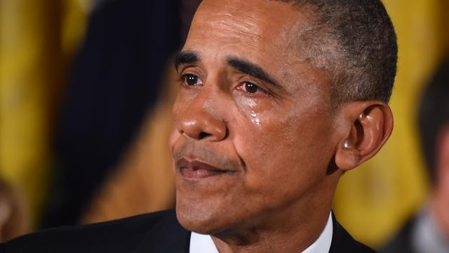 Obama herdenkt wapendoden met lege stoel tijdens State of the Union
